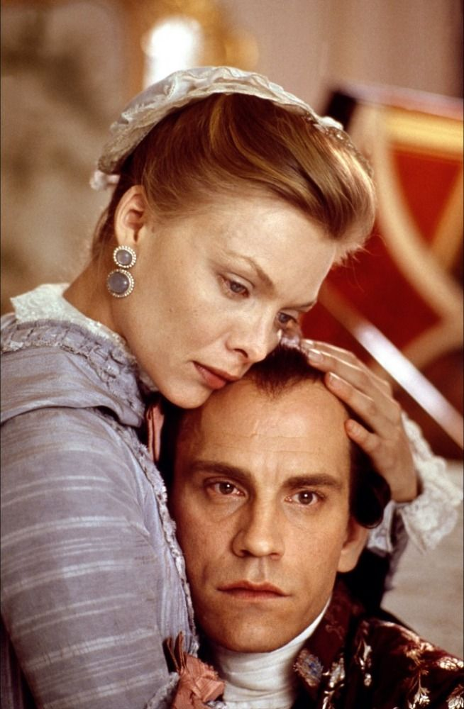 Les Liaisons dangereuses de Stephen Frears - Michelle Pfeiffer - John Malkovich, 1989.