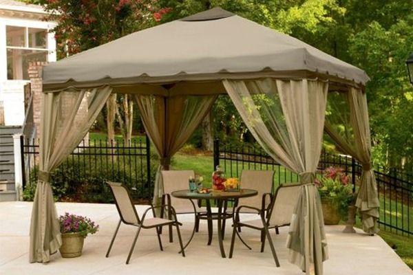 Patiocean Outdoor Gazebo Tent Patio Canopy Portable Gazebo Canopy Outdoor
