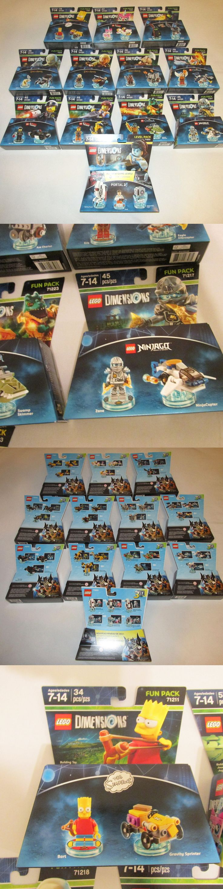 Mixed Lots 183451: Lego Dimensions 12 New Sets Minifigures Simpsons Ninjago Wizard Of Oz Portal -> BUY IT NOW ONLY: $47.98 on eBay!