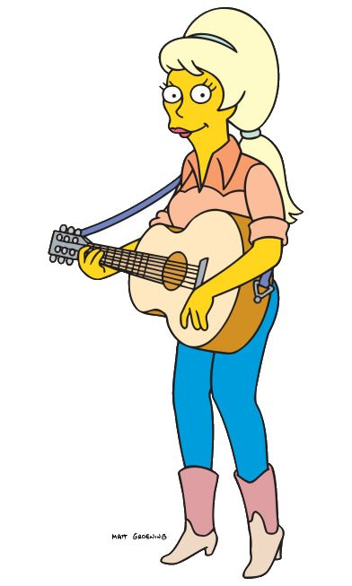 1000 images about welcome to springfield on pinterest famous cartoons edna krabappel and nu - Guitare simpson ...
