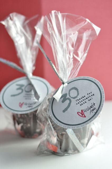 30th Birthday Party Favors 2