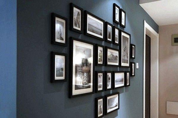 40 photographies d id es d co pour des murs de cadres designiz blog d coration int rieure. Black Bedroom Furniture Sets. Home Design Ideas