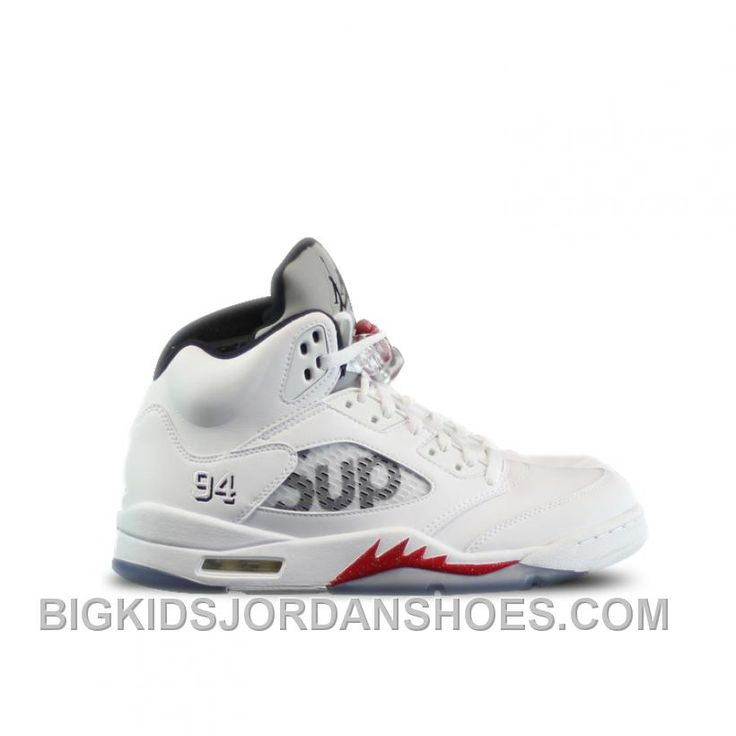 http://www.bigkidsjordanshoes.com/authentic-824371101-air-jordan-5-retro-supreme-white-fire-redblack-men-women-only-for-black-friday-sale.html AUTHENTIC 824371-101 AIR JORDAN 5 SUPREME WHITE FIRE RED-BLACK (MEN WOMEN) 2016 RETRO Only $146.00 , Free Shipping!
