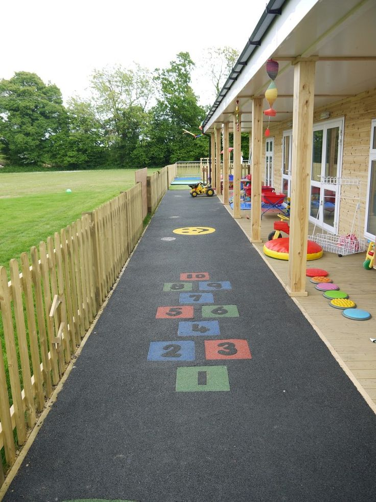 Outdoor Safety for Preschoolers   pour rubber safety surfacing preschool playground outdoor