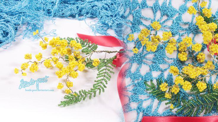 Mimosa by beads-poet.deviantart.com on @deviantART