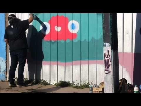Polanco festival Graffiti Mural
