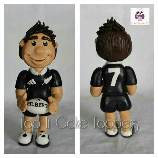 welsh rugby wedding cake topper rugby player cake topper all player made with 27014