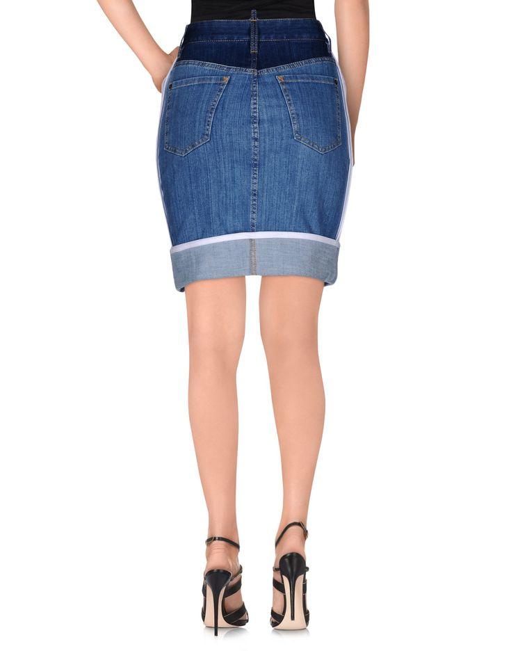 Dsquared2 Denim Skirt - Women Dsquared2 Denim Skirts online on YOOX Latvia - 42533041MB
