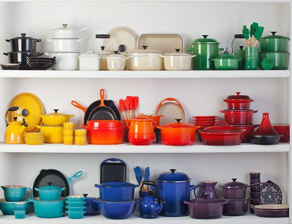 Satisfy My Sweet Tooth What I'm Loving Archives » Le Creuset cookware.  On my wishlist.