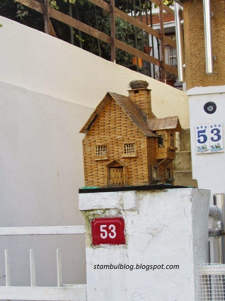 Дом с гнездом