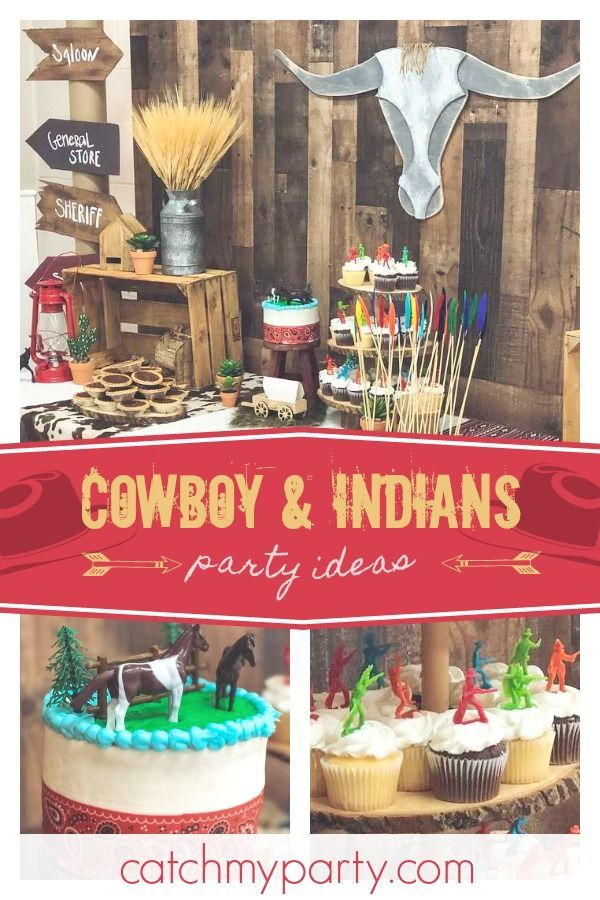 Cowboys And Indians Birthday Cowboys And Indians First Birthday