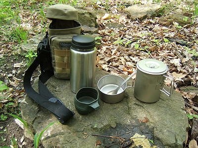 """Survival Tips, Tools, and Techniques: Maxpedition 10 x 4"""" Bottle Kit"""