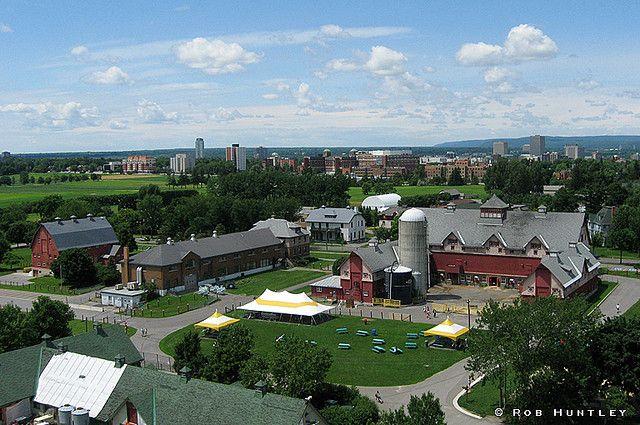 Agriculture Canada, Central Experimental Farm, Ottawa - Kite Aerial Photography (KAP)