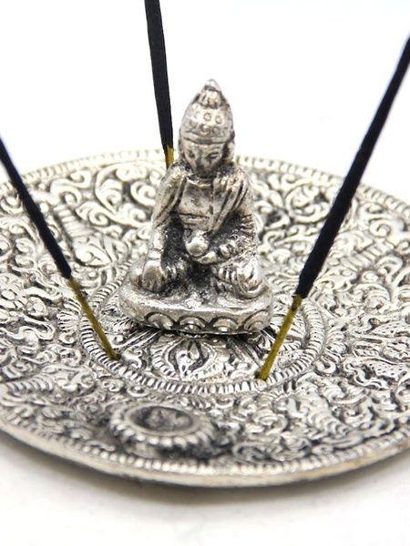 Tibetan Buddha Incense Burner