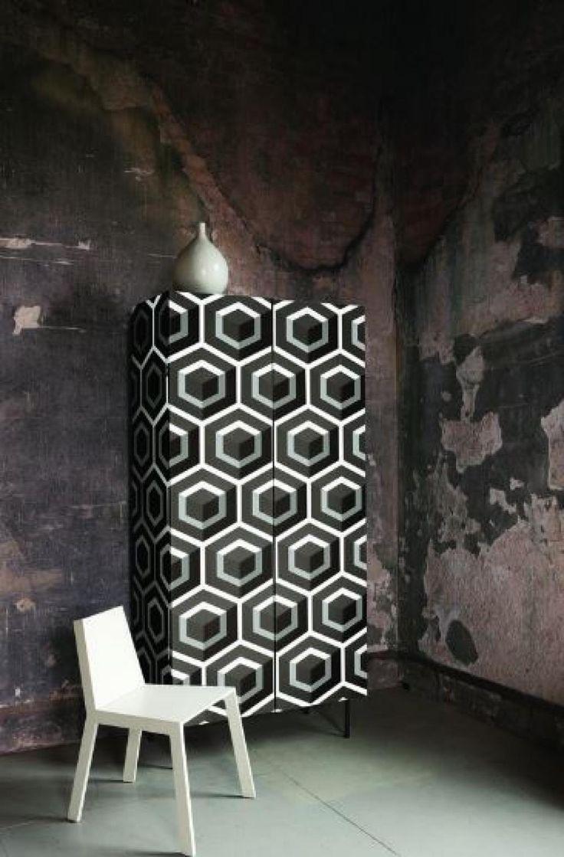Le papier peint n'est pas juste pour les murs... 9 façons originales de l'utiliser dans la maison! - Trucs et Astuces - Lesmaisons