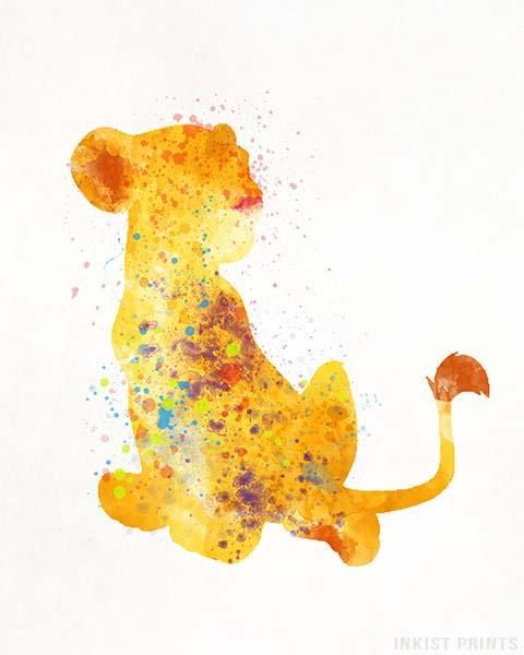 Nala, The Lion King Print