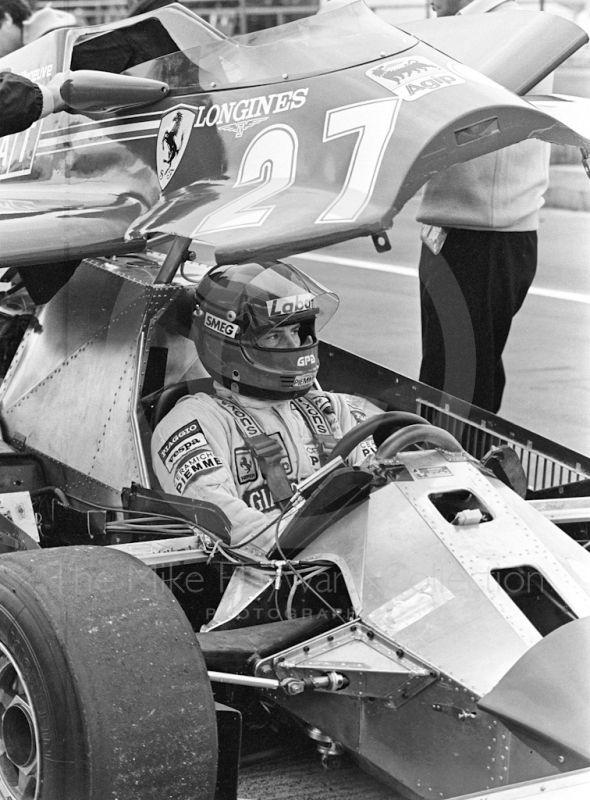 Gilles Villeneuve, Ferrari 126C Pictures, Gilles Villeneuve, Ferrari ...