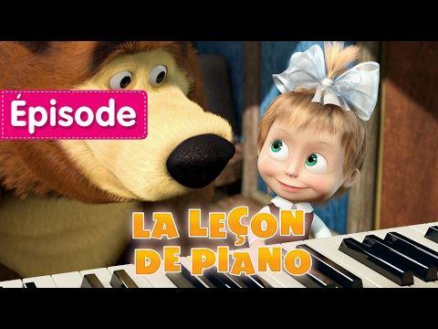 Masha et Michka - La Leçon De Piano (Tu sais jouer du piano?) - YouTube