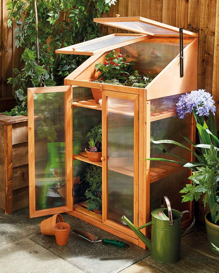 Small Greenhouse Wooden Greenhouses ALDI Small