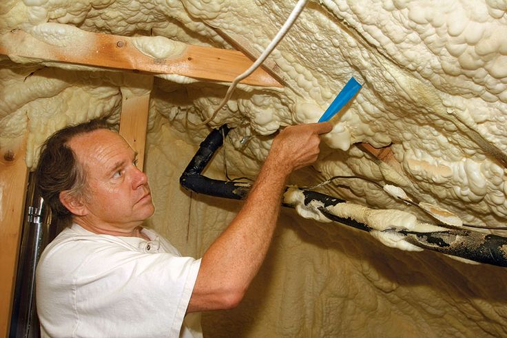 Spray Foam Is the King of Insulations — Stellar Performance and a Price to Match UPDATED 4/11/2014