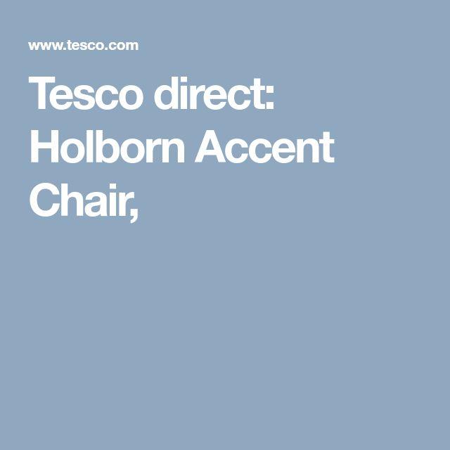 Tesco direct: Holborn Accent Chair,