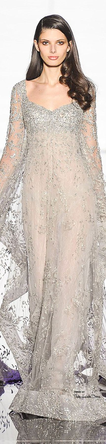 Zuhair Murad Spring 2015 Couture ♔THD♔This is a magical gown!  How I would love to wear something like this!