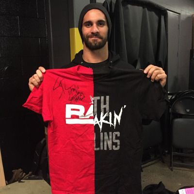 pic by Daily Ambrollins 16' survival serise team raw  seth rollins