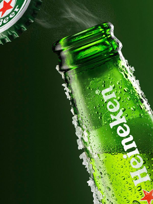 Heineken by Artem KAS, via Behance