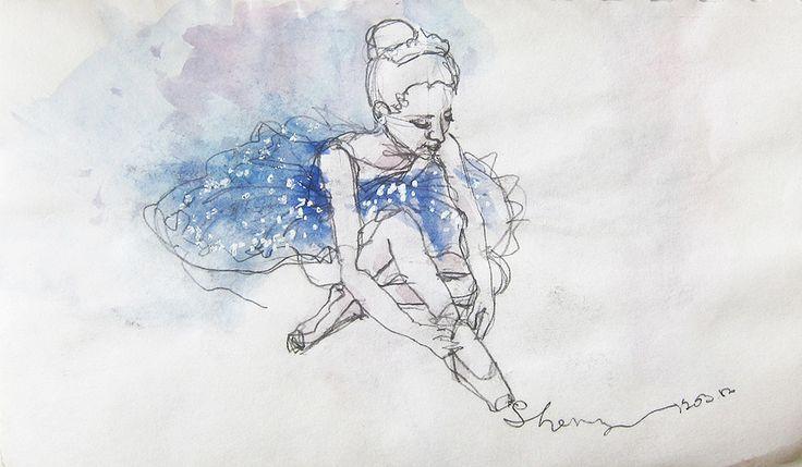 Dancer figure practice #3