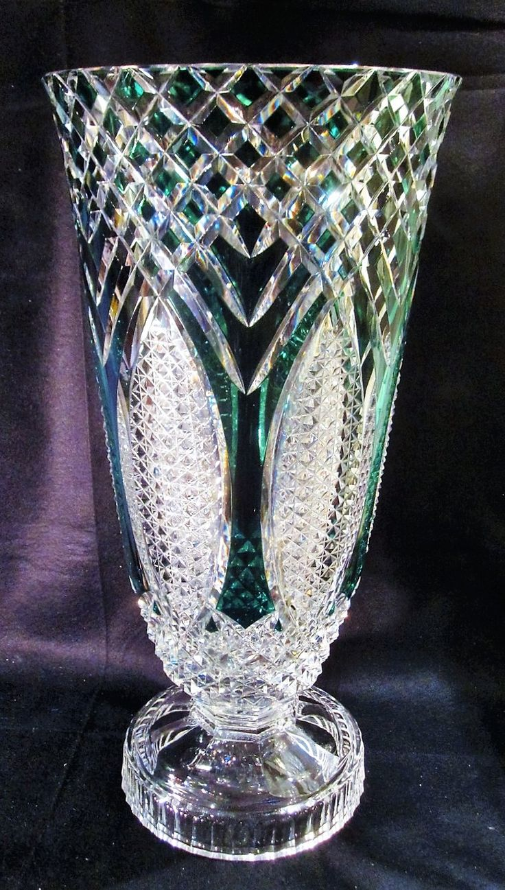 607 best vasi images on pinterest glass vase china painting and val st lambert vase queensland cristal doubl vert charles graffart 1956 reviewsmspy