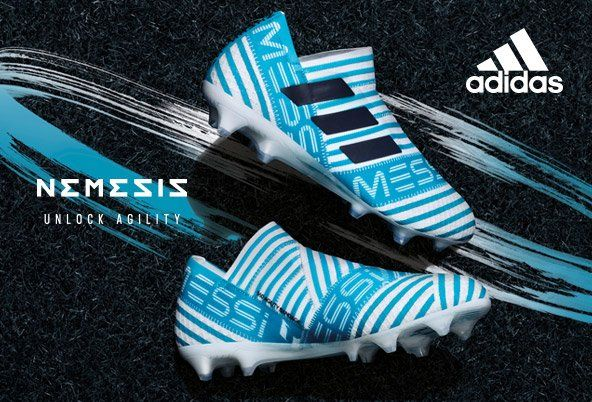 Check out the Latest Adidas Nemesis Football Boots at Lovell Soccer: