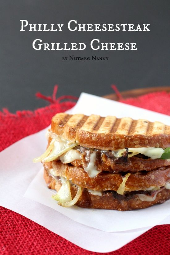 Philly cheesesteak grilled cheese