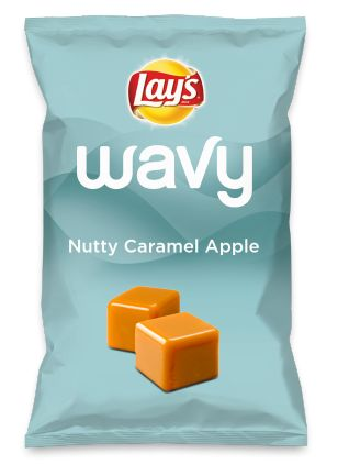 Wouldn't Nutty Caramel Apple be yummy as a chip? Lay's Do Us A Flavor is back, and the search is on for the yummiest chip idea. Create one using your favorite flavors from around the country and you could win $1 million! https://www.dousaflavor.com See Rules.