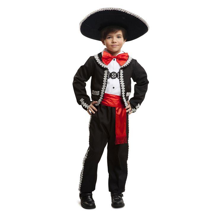 Déguisement Mariachi Mexicain Enfant #déguisementsenfants #costumespetitsenfants #nouveauté2016