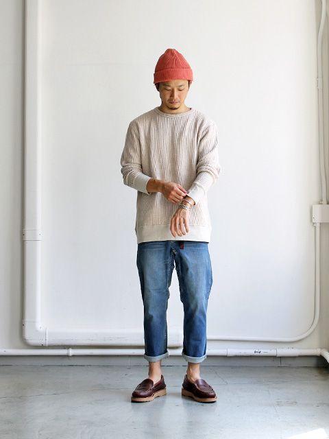 Gramicci Denim Nallow Cropped Pants