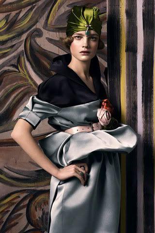 Vogue Magazine's tribute to revolutionary designer Paul Poiret.