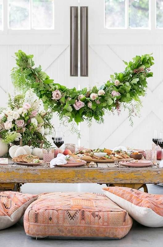 best entertaining design blogs pink and white table setting