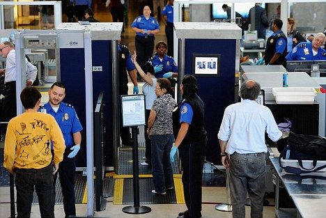 American security agents drafted in to Heathrow and other British airports to help checks during the Olympics. Team work!