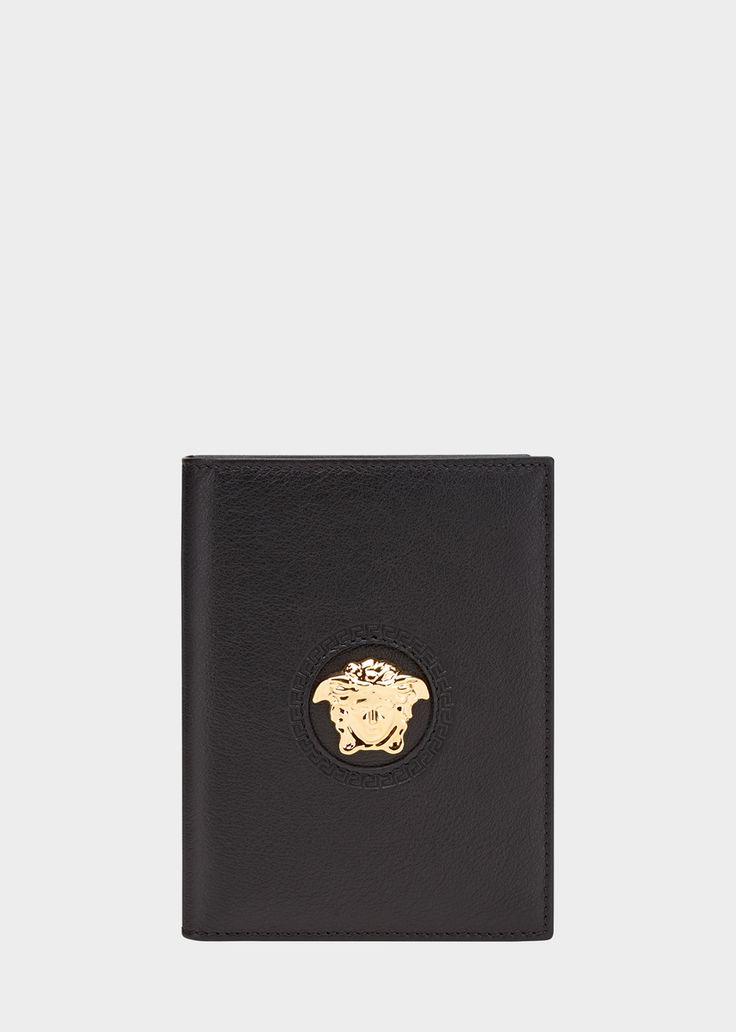 Étui pour passeport Tête de Medusa - Versace Homme | Boutique en Ligne France