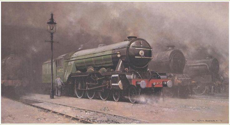 David Shepherd foundation steam train Shalford station Surrey