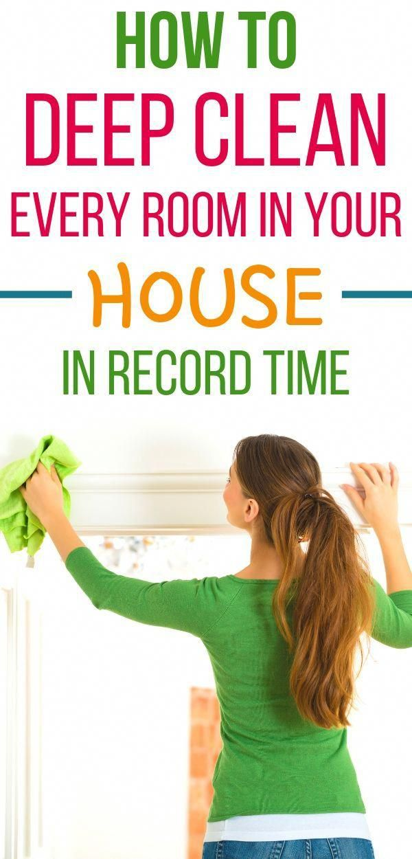 How to deep clean your house in a day. Easy home deep cleaning tips to help you …
