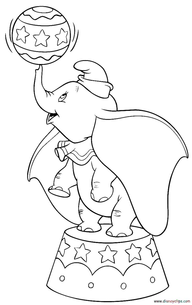 disney dumbo coloring pages - Bing Images