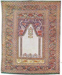"""tappeti turco - tappeti turchi ghiordes Sullo sfondo monocromatico delle nicchie si distribuiscono talvolta piccoli disegni neri, detti """"mosche"""". Cerca con Google"""