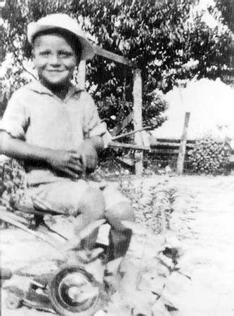James Earl Jones as a boy in Mississippi, early 1930s.