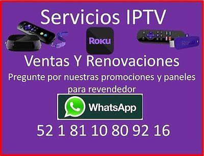 RENOVACION*6MESES*Películas,ppv, tv en vivo, XXX, etc*prog.Latina.PIDA INFORMES