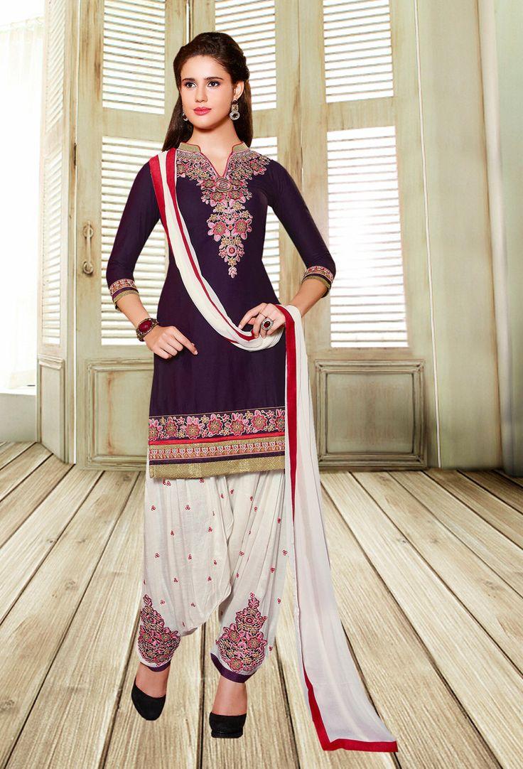 #Purple #Cotton #Shalwar #Kameez #nikvik  #usa #designer #australia #canada #freeshipping #fashion #dress #sarees #sale