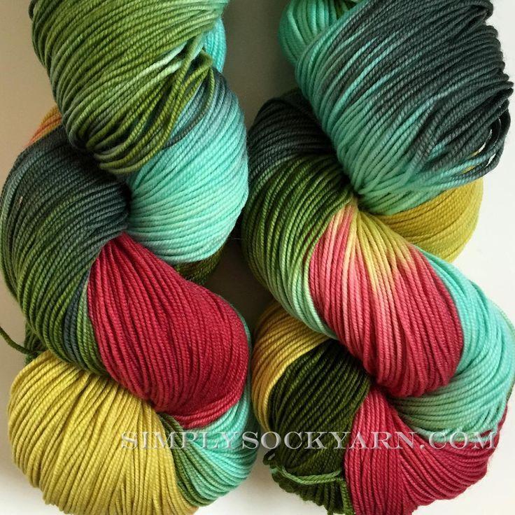 Simply Socks Yarn Company - BMFA STR LT Angry Elf, $23.50 (http://www.simplysockyarn.com/bmfa-str-lt-angry-elf/)