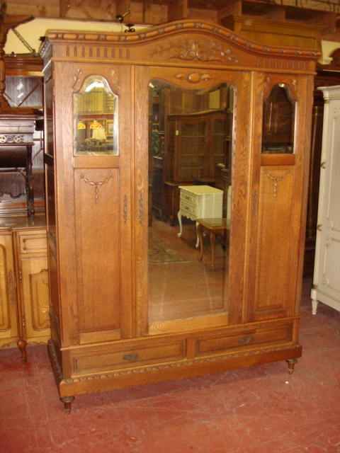 Antique Furniture French Antique Carved Armoire Wardrobe Cabinet Closet