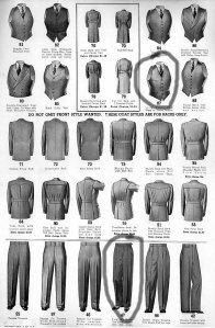 Costume homme années 30 / 1930 man's costume