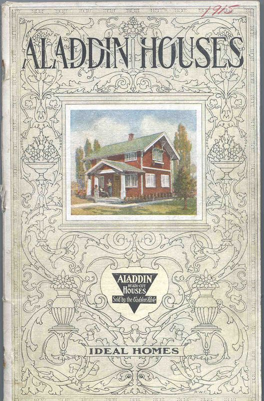 Clarke Library brings to the web the Aladdin Company annual sales catalogs published between 1908 and the mid-1950s.